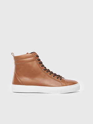 Sneakers & streetskor - Royal Republiq Spartacus Basket Hi Cut 0600 Tan