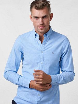 Skjortor - Tommy Hilfiger Core Stretch Oxford Shirt 474 Light Blue