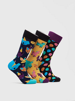 Happy Socks 3-pack Party Animal Gift 9000