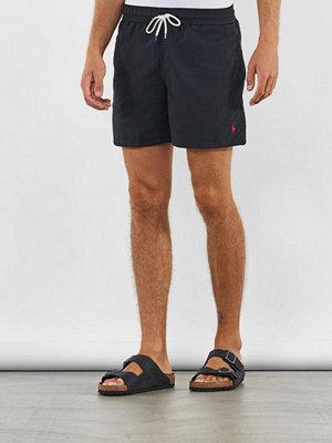 Badkläder - Polo Ralph Lauren Traveler Swim Polo Black