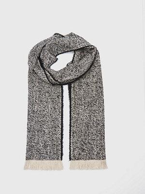 Halsdukar & scarves - Filippa K Herringbone Scarf Grey Melange