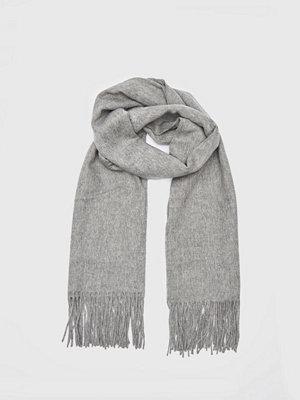 Halsdukar & scarves - Dr. Denim Charlie Scarf Light Grey Mix