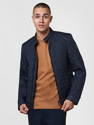 Belstaff Bramely Quilted Jacket 80000 Navy
