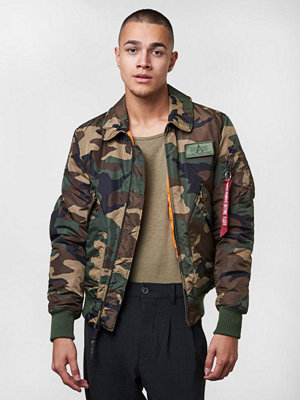 Alpha Industries CWU VF TT 408 Woodland Camo