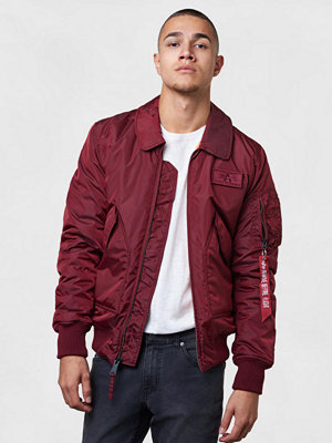 Alpha Industries CWU VF TT 184 Burgundy