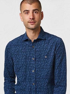 Morris Clement Spread Collar Shirt 60 Navy