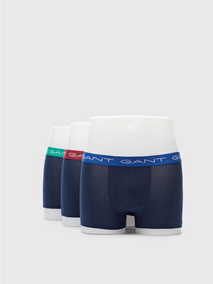 Gant 3-pack Trunk Seasonal Solids 405 Navy