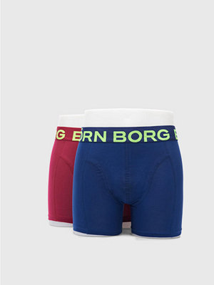 Björn Borg Neon Solid Sammy Shorts 40501 Beet Red