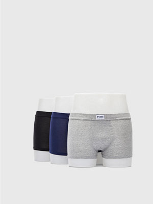 Frank Dandy 3-pack Bamboo Trunk Grey/Navy/Black