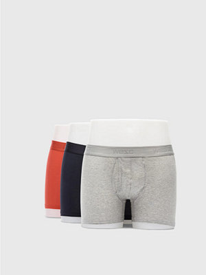 WESC Boxer Brief 3 Pack Flame Scarlet