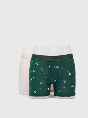 WESC Boxer Brief 2 Pack Sycamore