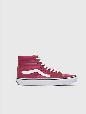 Vans UA Sk8 Hi Dry Rose / True White