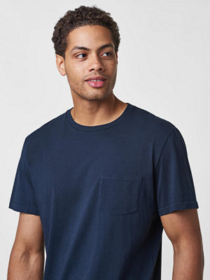 T-shirts - Wacay Dylan Pocket Tee Eternial Blue