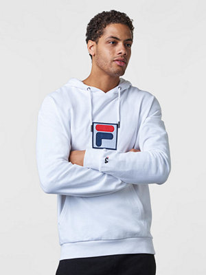 Street & luvtröjor - Fila Shawn Hooded Sweat M67 Bright White