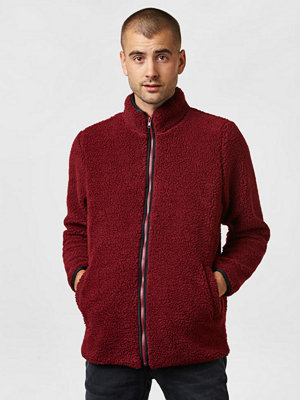 Studio Total Morgan Pile Jkt Burgundy