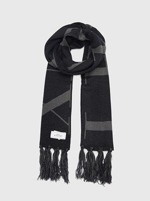 Halsdukar & scarves - Les Deux Les Deux Fan Scarf Black/Black