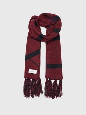 Halsdukar & scarves - Les Deux Les Deux Fan Scarf Burgundy/Black