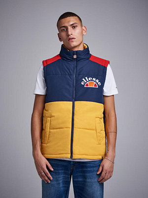 Ellesse Sorbo Vest Dress Blue / Citrus