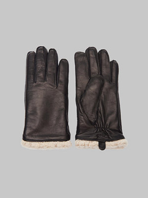 Handskar & vantar - Royal Republiq Linear Shearling Glove 01000 Black