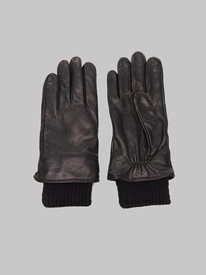 Handskar & vantar - Royal Republiq Ground Glove Short/ Wool Rib 01000 Black