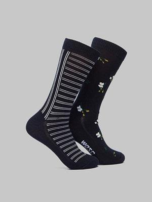 Strumpor - WESC Fashion Sock 2 Pack Navy Blazer
