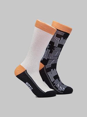 Strumpor - WESC Fashion Sock 2 Pack Black