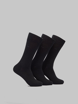 Strumpor - Calvin Klein Underwear Eric 3-pack 00 Black