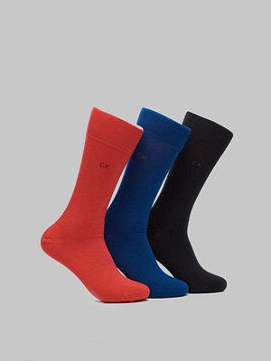 Calvin Klein Underwear Eric 3-pack U2 Navy/Red/Black