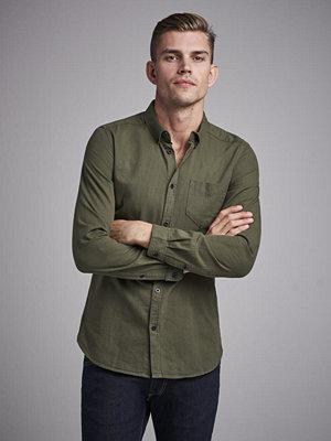 Skjortor - Dr. Denim Pete Shirt Cammo Green