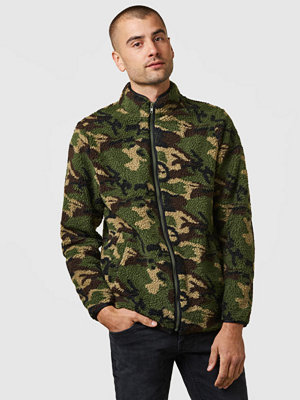 Studio Total Morgan Pile Jacket Camo