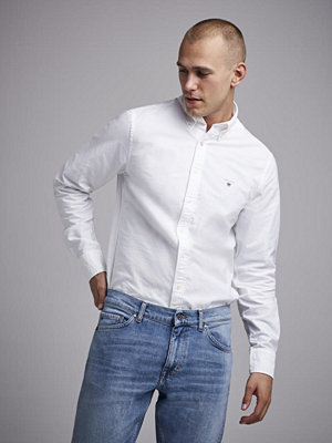 Gant The Oxford Shirt Slim BD White