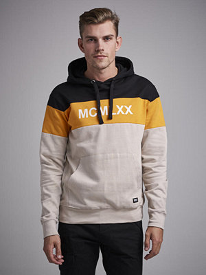William Baxter Lucas Blocked Hoodie Beig