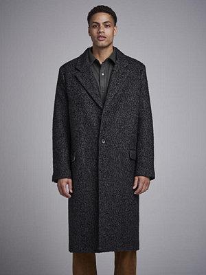 Hope Area Coat Black Melange