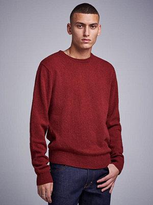 Studio Total Garret Knitted Wool Crewneck Wine