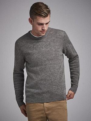 Studio Total Garret Knitted Wool Crewneck Greymelange