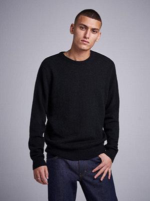 Studio Total Garret Knitted Wool Crewneck Black
