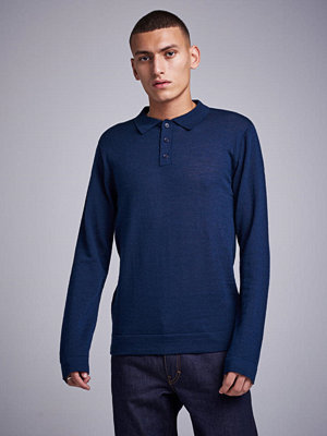 Studio Total Finch Knitted Shirt Navy