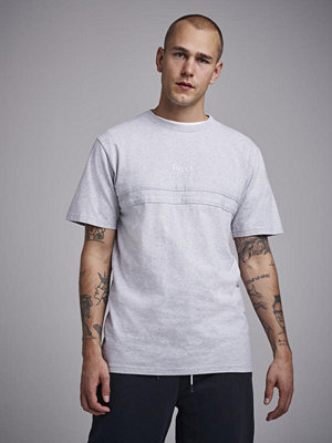 T-shirts - Forét Soil T-shirt Light Grey Melange