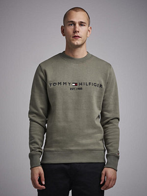 Tommy Hilfiger Logo Sweatshirt 304 Dusty Olive