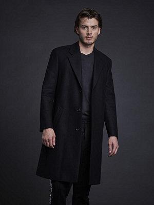 Modernist Wool Coat Black