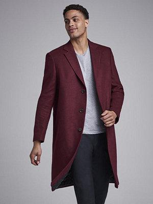 Studio Total Fenton Wool Coat Burgundy
