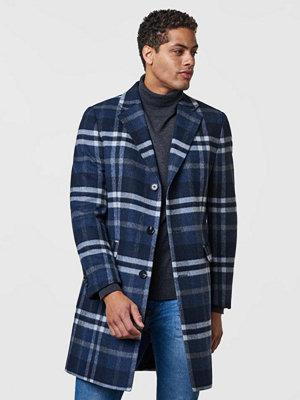 Studio Total Lambton Woolcoat Plaid Grey/Blue