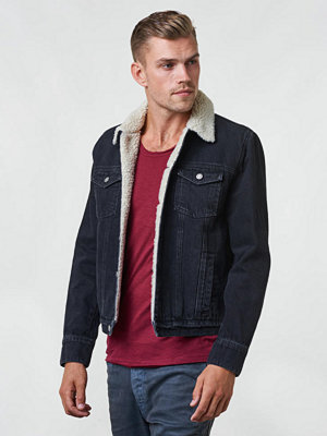 Jeansjackor - William Baxter Ryan Denim Jacket Washed Black