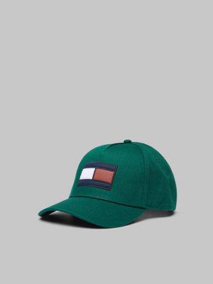 Kepsar - Tommy Hilfiger SPW Flag Cap 342 Rain Forest