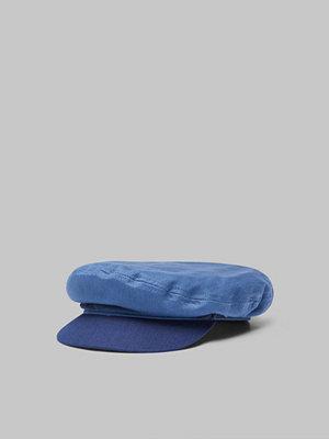 Kepsar - Brixton Fiddler Cap Blue/Dark Navy