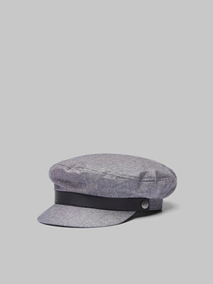 Kepsar - Brixton Fiddler Cap Middle-Grey