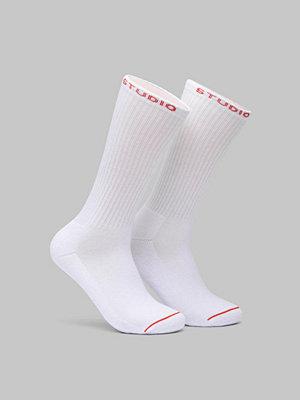 Strumpor - Studio Total ST Crew Sock 2-pack White