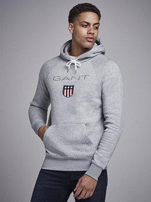 Gant Gant Shield Hoodie Grey Melange