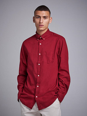 Gant Winter Twill Reg BD Winter Wine