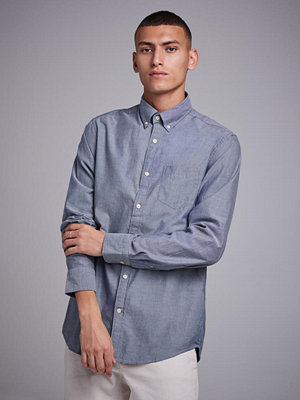 Gant Winter Twill Reg BD Navy